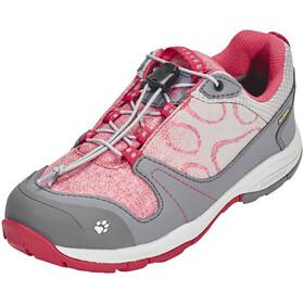 Jack Wolfskin Grivla Texapore Low Shoes Girls azalea red